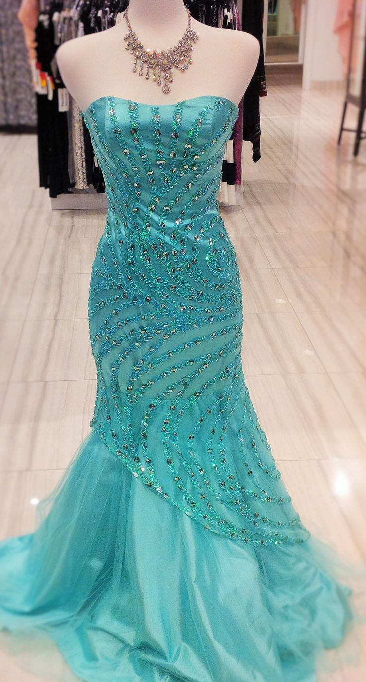 Want a mermaid style? this is the one to get! a really beautiful dress to shake your booty in! #prom #classicboutique #pickeringtowncenter #eastgwillimbury #prompromprom #classic #perfectforprom