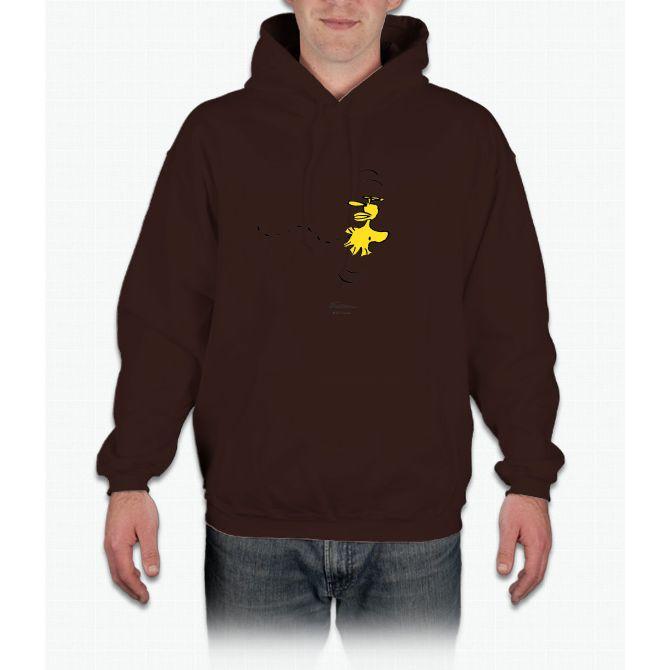 Peanuts - Snoopy - Woodstock Charlie Brown Hooded Sweatshirt
