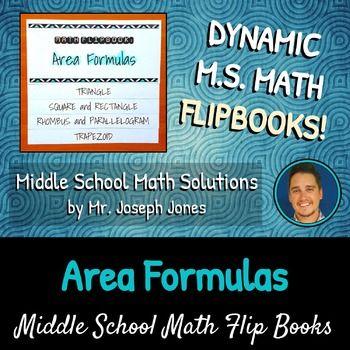 Area Formulas Flip Book