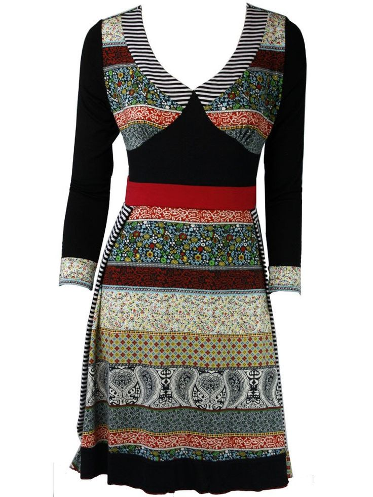 Xaveria Creative Tunic Dress
