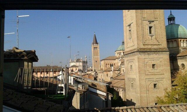 Dai tetti di Parma