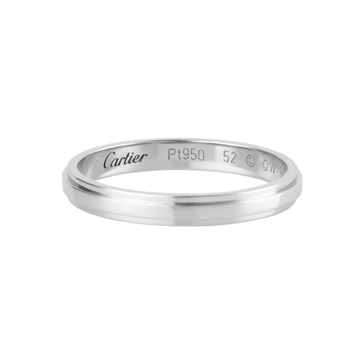 Cartier D Amour Wedding Band For Ryan