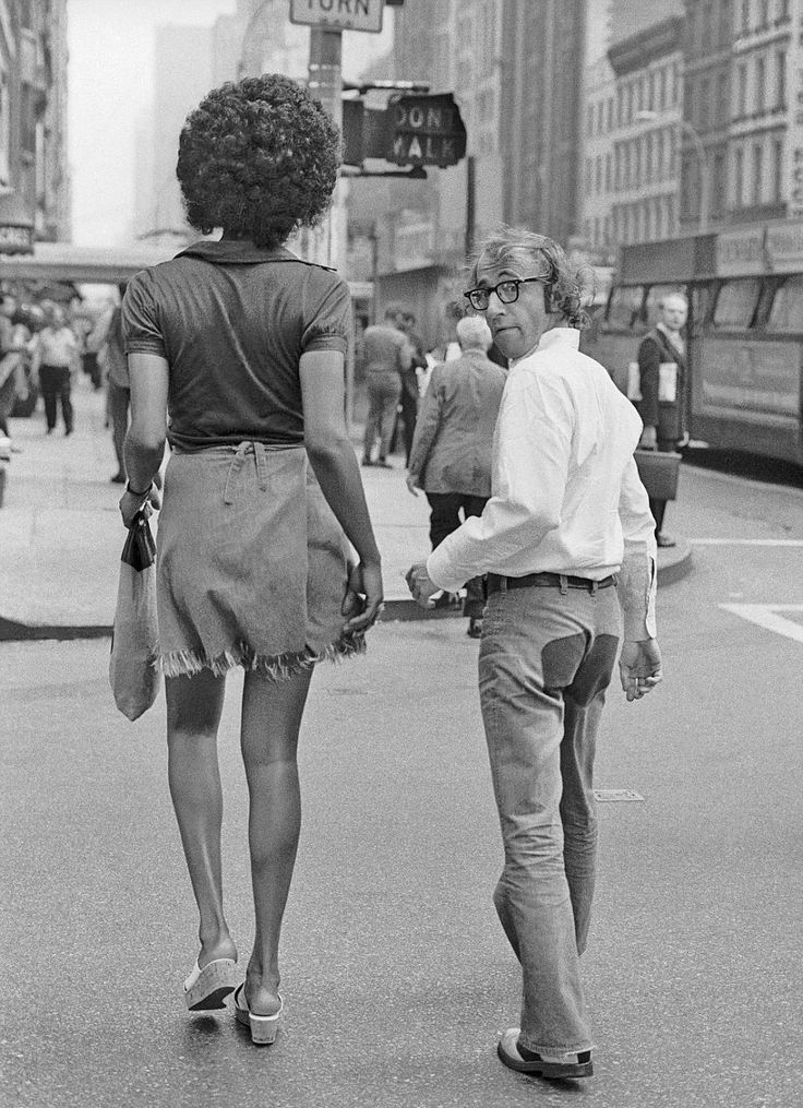 Woody Allen and friend...