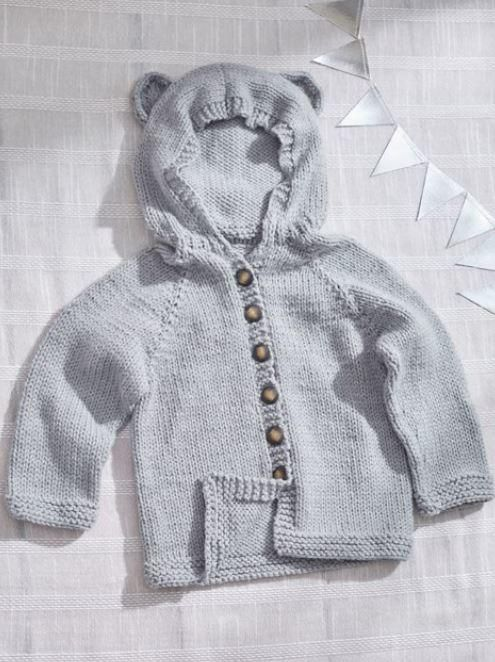 86d9929b934f There s very little cuter than babies dressed up as animals. This Baby Bear  Hooded Cardigan is the cutest knit baby sweater for mama bear to dress her  ...