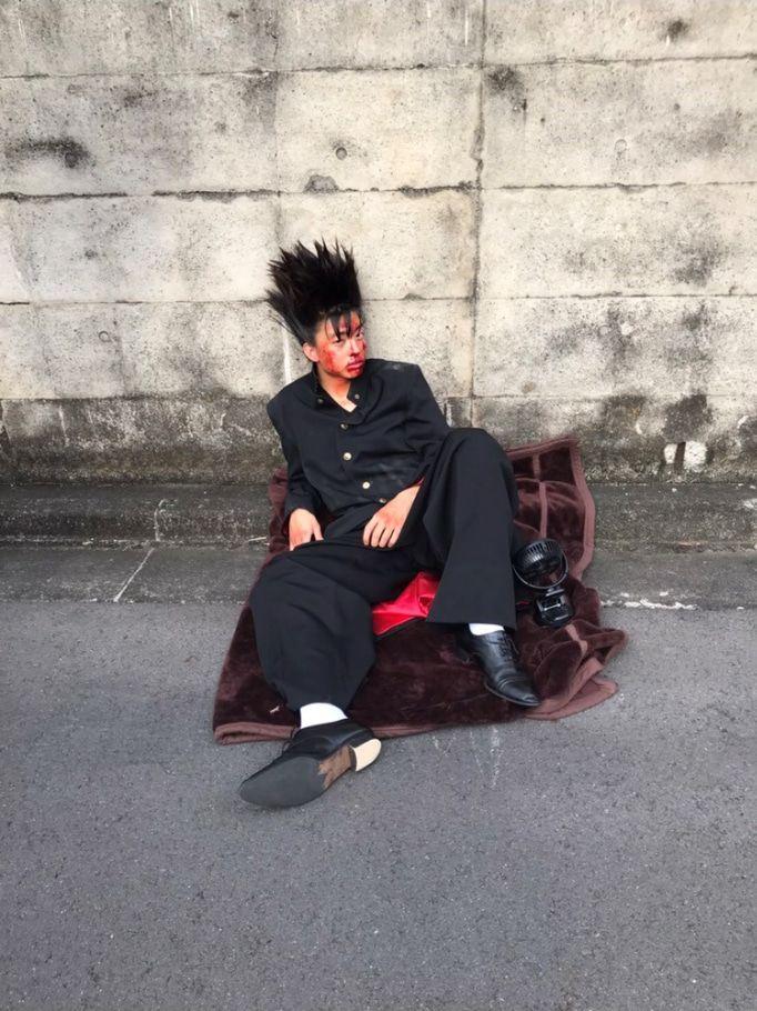 間も無く放送開始ですな 今日から俺は オフィシャルブログ Powered By Ameba 愛してるのおしゃれイメージ画像 俳優 健太郎 少女椿