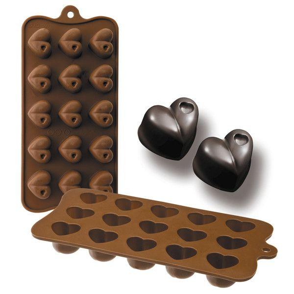 Chocolate con forma de corazón