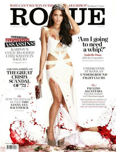 Isabelle Daza on Rougue Mazazine