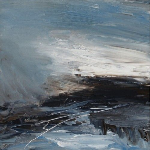 poboh: Coast Lines II, Erin Ward. English Painter.