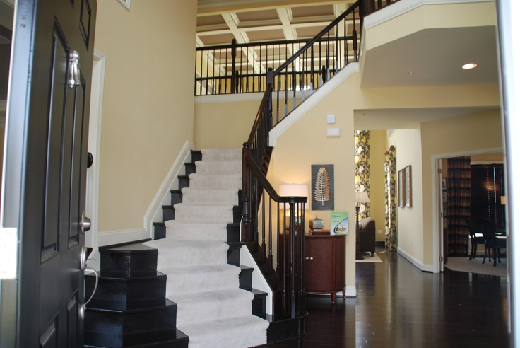 Foyer Colors Quotes : Beautiful two story foyer home living room pinterest