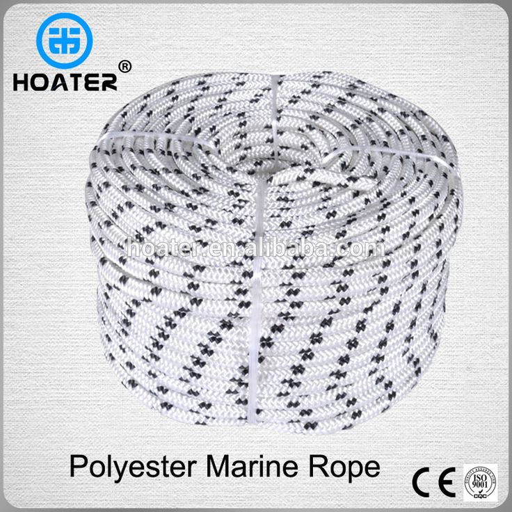 Halyard Braided Polyester Boat Sailing Rope Marine Rope 10MM