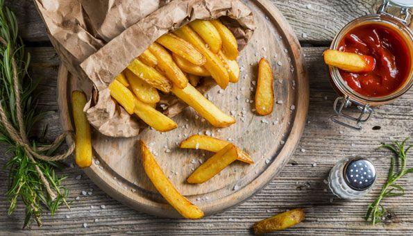 Pommes Frites selber machen mit und ohne Friteuse