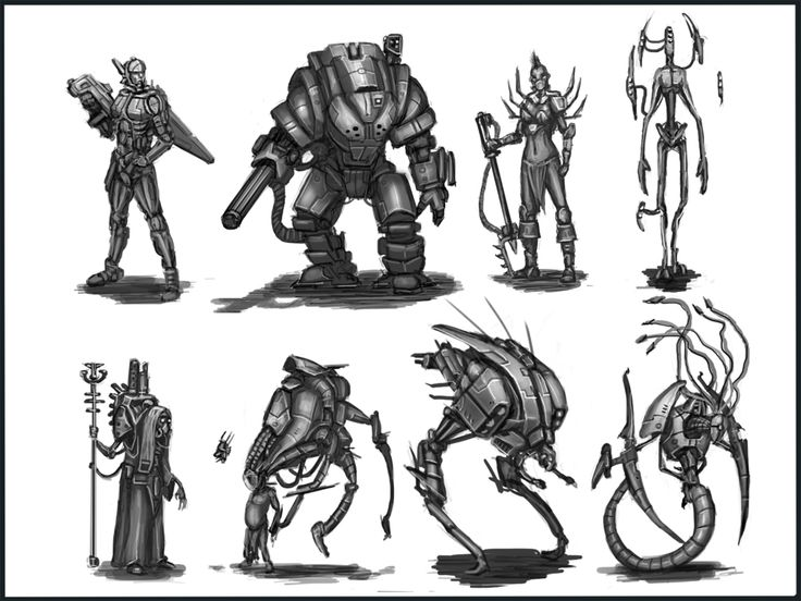 Character Design For Production Concept Techniques : Best images about sci fi character on pinterest the