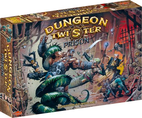 Dungeon Twister Prison A mind bending game of deep strategy.