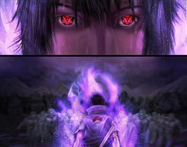 Sasuke Eternal Mangekyou Sharingan   Sasuke's Eternal Mangekyou Sharingan