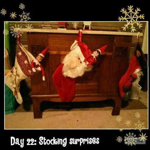Day 22: Stocking surprises.