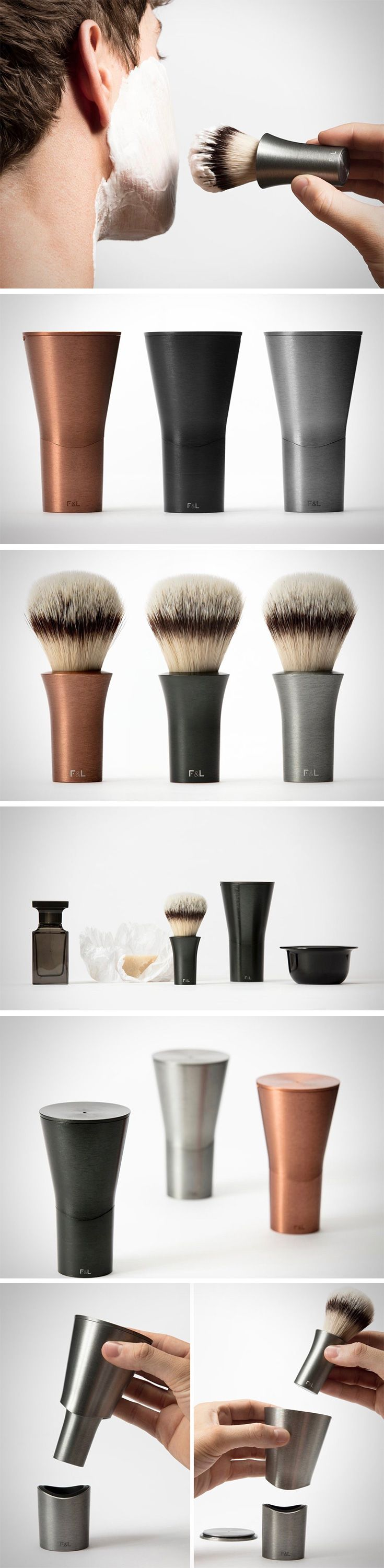 Bring home a barber shop quality shave with OFFSET – the latest from Layer for London startup Follicle&Limb. This sleek, modern set consists of three parts: a badger shaving brush, case which doubles as a stand for the drying bush and a dish for the razor. Forget the myriad of male grooming accessories… this minimalistic, magnetically married combination is all you need for a handsome, smooth face!