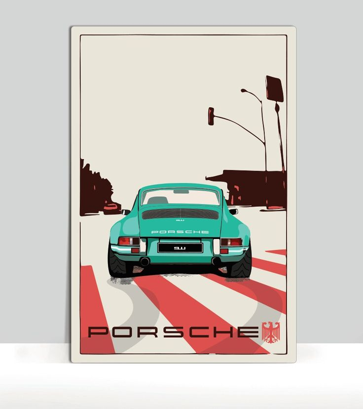 Best Classic Car Posters Images On Pinterest Car Decals Car - Window clings for car sports