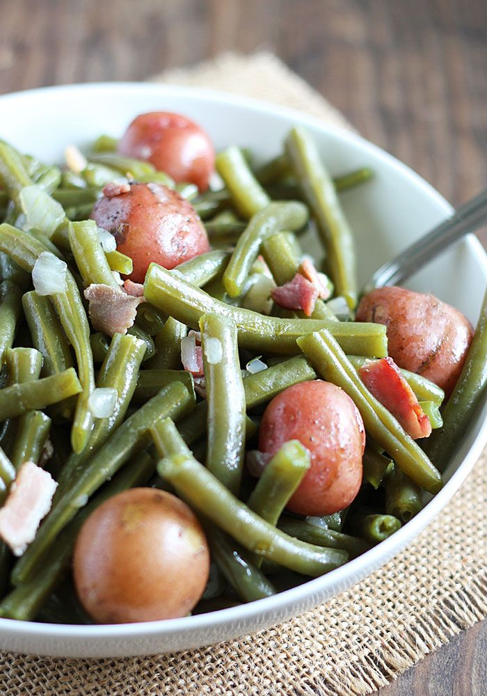 how to make fresh green beans on the stove