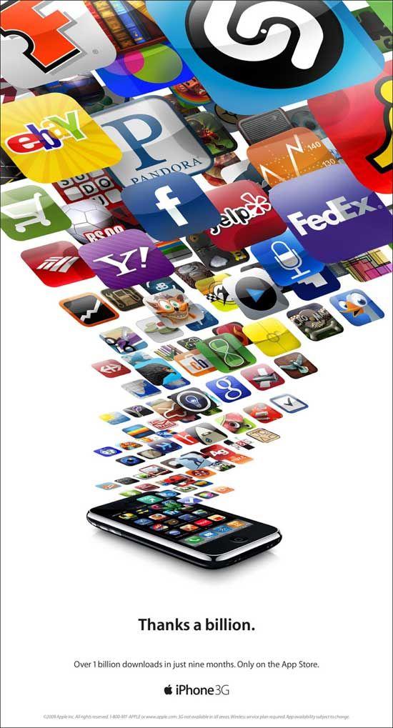 Thanks A Billion Advertising Poster #app #websynergies #microsoft