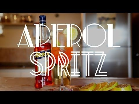 Drink: Aperol Spritz #TorradaTorrada - YouTube