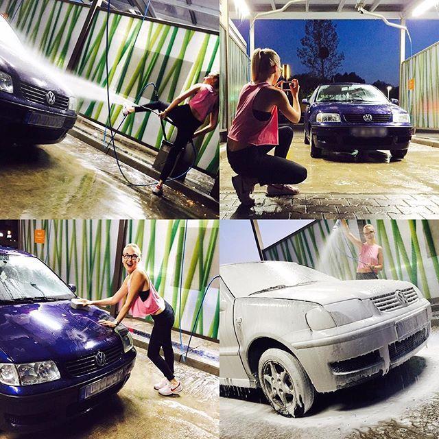 #carwash #auto #meinhobby #photooftheday #anderegehenfeiern #happy  #polo6n2 #schonwieder #vwpolo #inkstagram #sneakers #carlove #liebezumauto #volkswagen #schaum #vwlovers #fitgirl #carlove #happy #fun #baldbistduweg #meinbaby #pflege #nike #sexycarwash #cargirl #vwpolo #vwpolo #erstesauto #vergisstmannicht #baldwirstduausgetauscht #schnelleralsgedacht