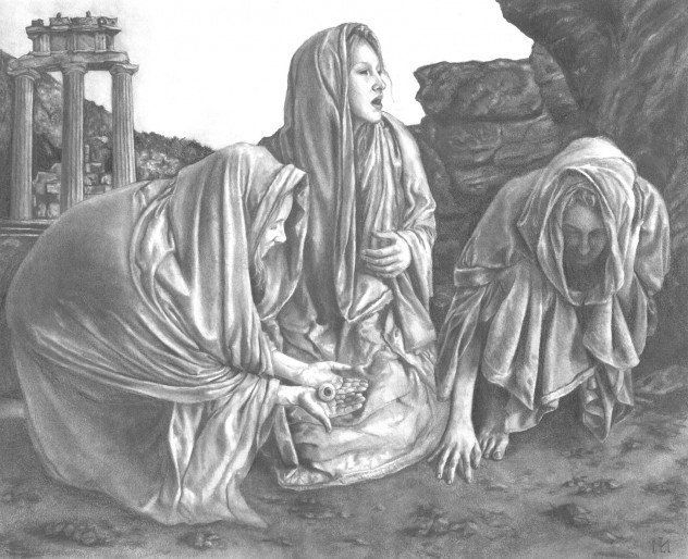 The Graeae and the Morai are two separate trios of witches who understand the whims of fate, but since they are often lumped together we'll mention them both. Description from pinterest.com. I searched for this on bing.com/images