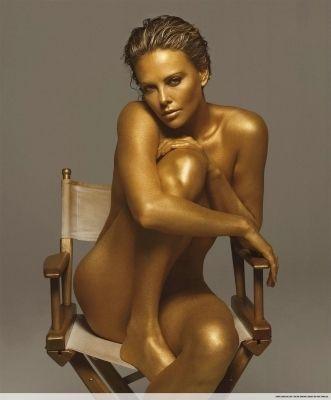 charlize theron nude portraits