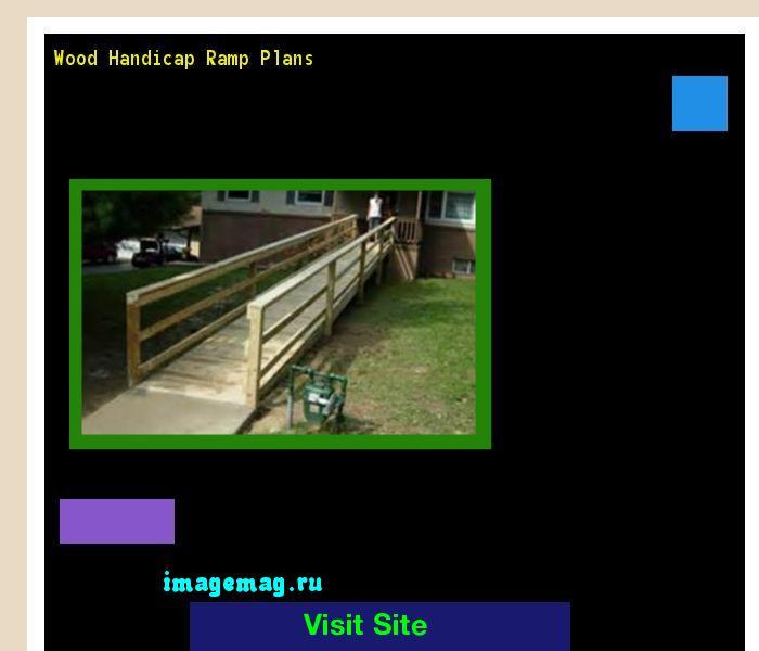 Wood Handicap Ramp Plans 072241 - The Best Image Search