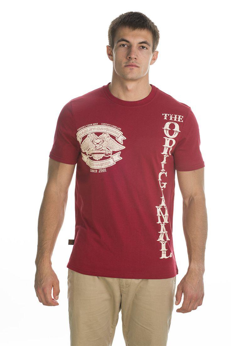 T-shirt Original; red.