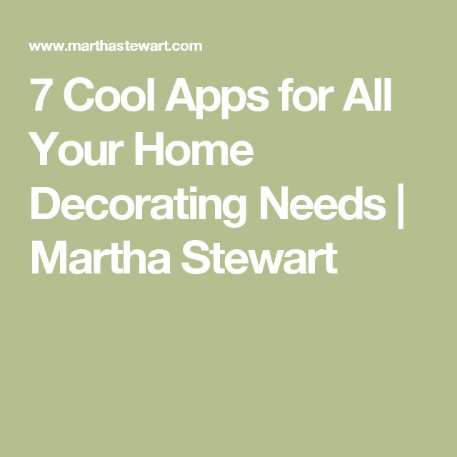 7 cool apps for all your home decorating needs - Decorating Apps