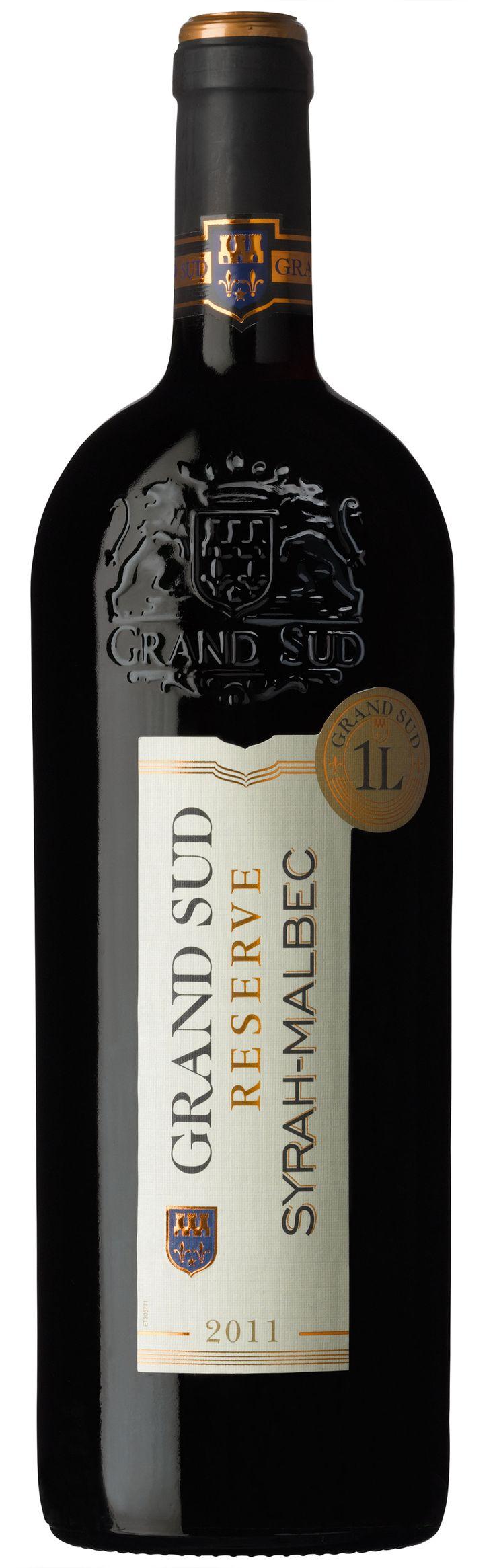 Ce #vin peut être apprécié seul en apéritif ou en accompagnement de plats riches en arômes. #Syrah #Malbec #GrandSud #2013