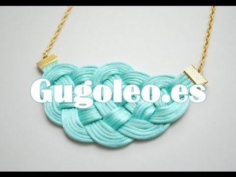 Como hacer un collar de nudos - hacer collares y pulseras baratas