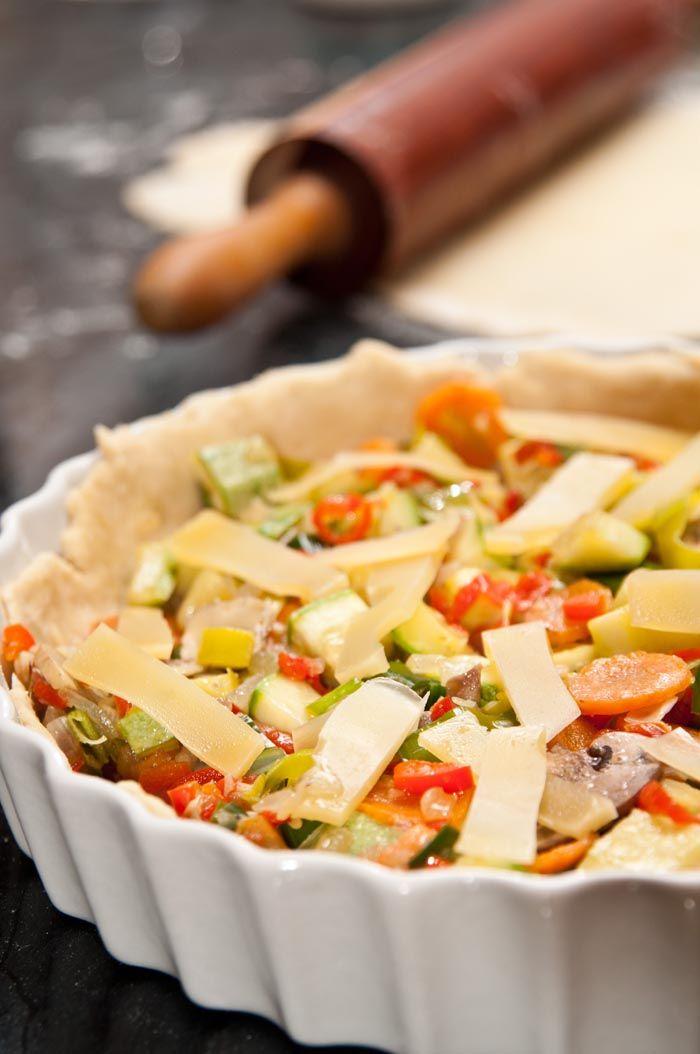 Os apetece quiche de verduras una comida ideal para for Quiche de verduras facil
