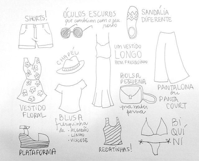 Como criar um guarda-roupa versátil para clima quente na cidade
