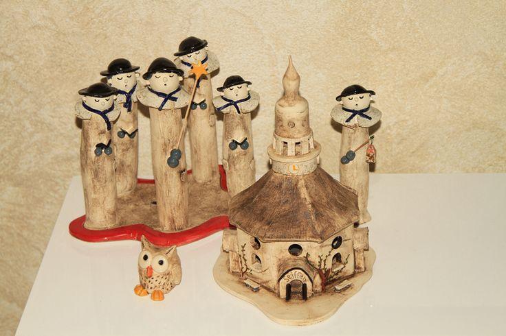 Weihnachtsdeko - Seiffener Kirche & Kurrende - ein Designerstück von ThoLiKo bei DaWanda