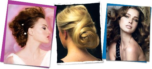 up-do's and bridal