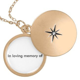 LOVEING MEMORY LOCKET