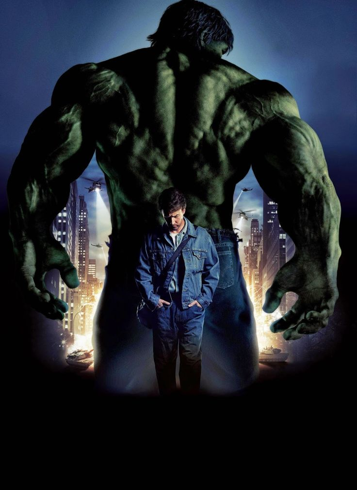 Incredible Hulk transformation