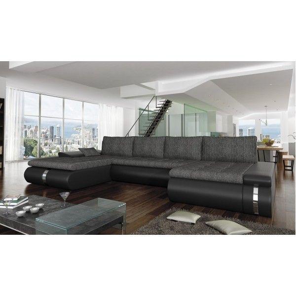 Γωνιακός καναπές-κρεβάτι FOGGIA LUX-Σαλόνια