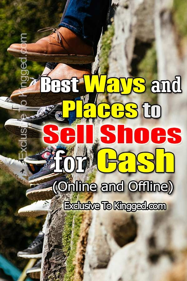 20 Best Places to Sell Shoes for Cash