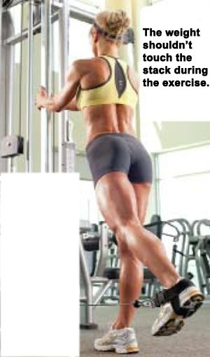 9 glute (butt) exercises. Nice short routine. the second page has great tips for changing it up and eating tips
