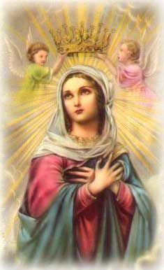 Prayer CardBlessed Mothers, Mothers Mary, Queens, Holy Cards, Blessed Virgin, Catholic Faith, Virgin Mary, Prayer Cards, Heavens