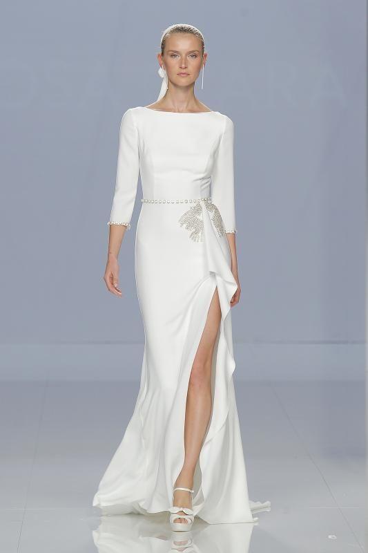 Gli abiti da sposa Rosa Clará 2018 hanno sfilato alla Barcelona Bridal Fashion Week. Una collezione come non l'avete mai vista: scoprite foto e video!