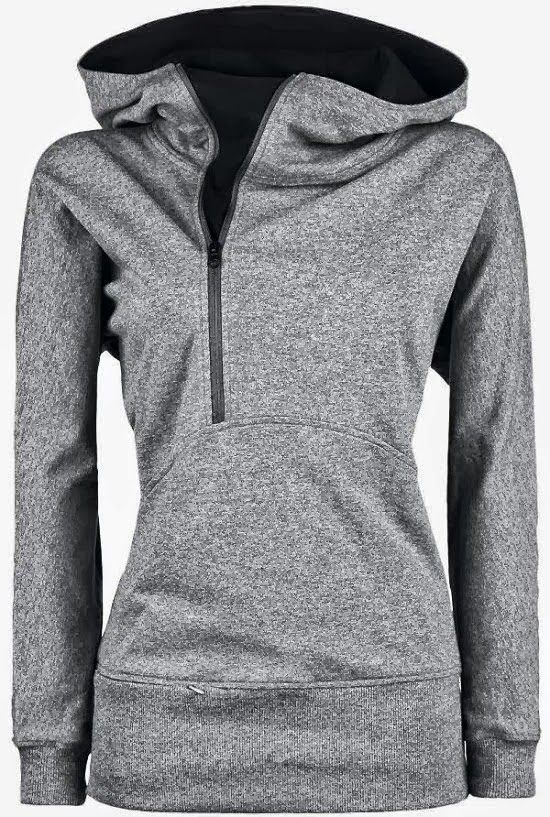 Open Face Side Zip North Face Hoodie