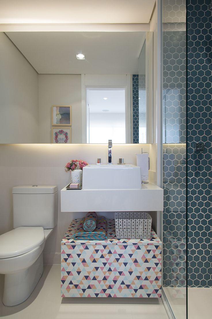 Banheiro FERNANDA MARQUES. Bueno Netto - Hassib Mofarrej