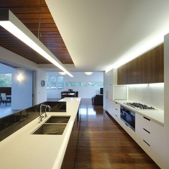 Bulkhead - wood feature