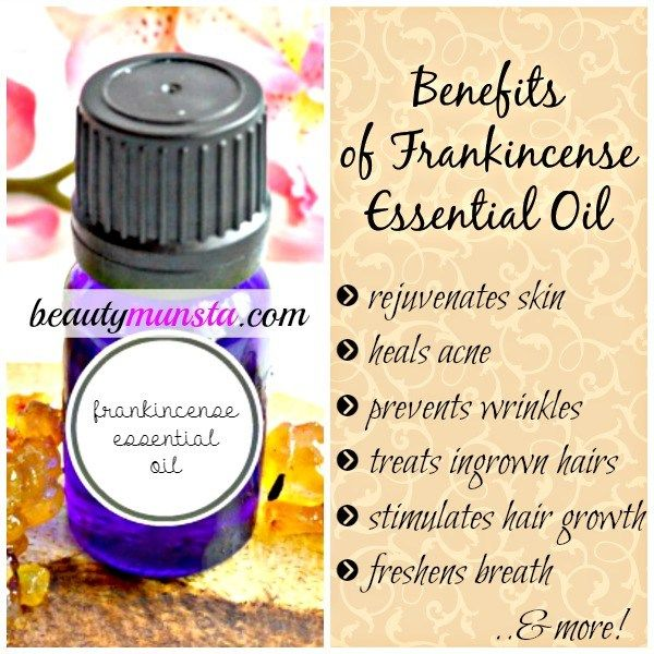 Find out the benefits of frankincense essential oil for skin, hair & beauty