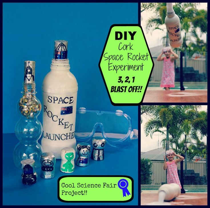 Water Bottle Rocket Science Project: Rockets, Experiment And Corks