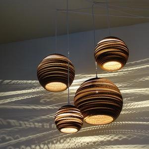 Greypants lampen Materiaal: karton In combinatie met Coppershades