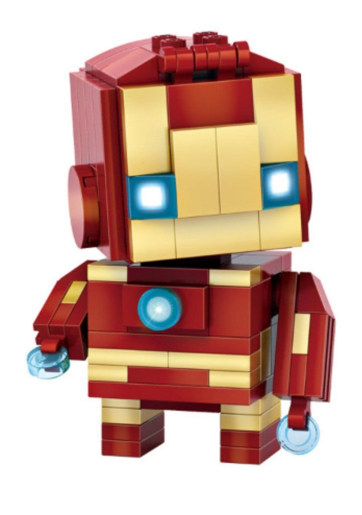 New 2016 LOZ Mini Blocks The Avengers Iron Man